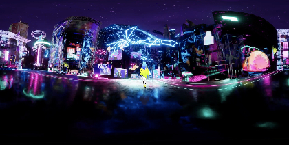 Ado、ファンアートが360°全方位に登場する「夜のピエロ」の360°MVを公開