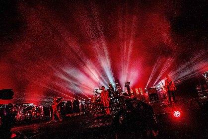 """ONE OK ROCK """"今を生きて、次の時代へと繋いでいって欲しい""""ーー生配信ライブのオフィシャルレポートが到着"""