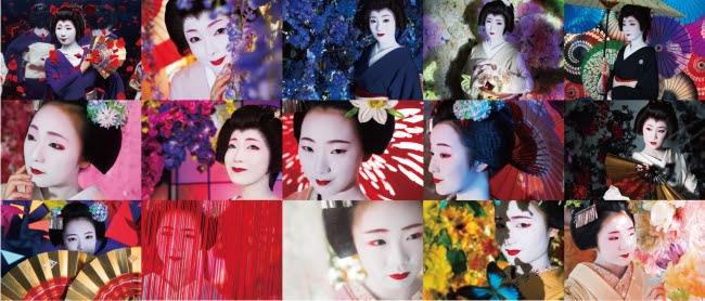 15名の芸妓舞妓(C)mika ninagawa, artbeat publishers