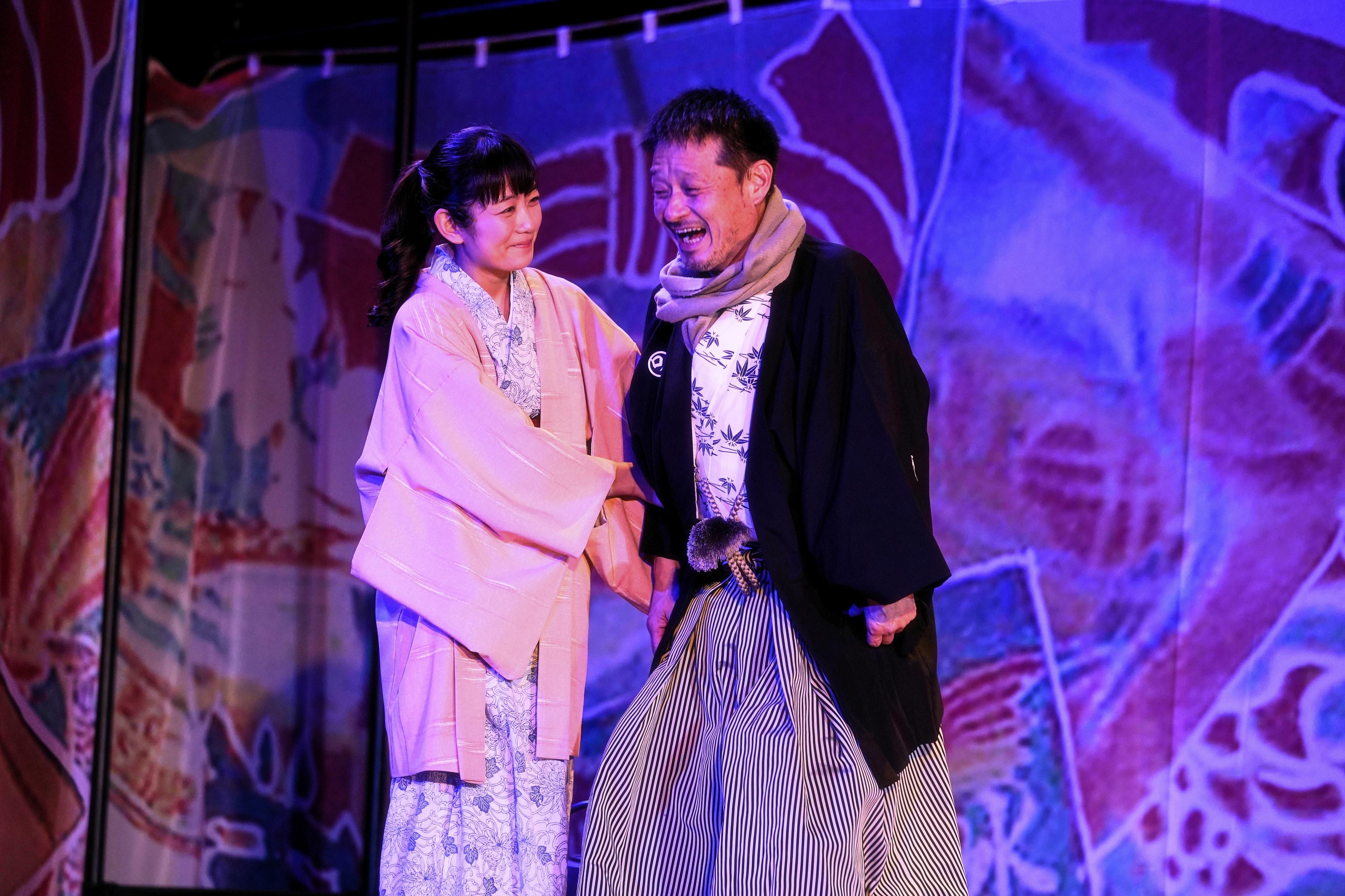 (左から) 森田涼花、福田転球 撮影:細野晋司