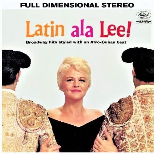 ペギー・リーのアルバム『ラテン・アラ・リー!』(1960年リリース)