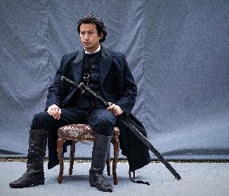 岡田准一が土方歳三の肖像写真を再現した『燃えよ剣』場面写真を公開 『信長の野望』『三國志』シブサワ・コウ氏らのコメントも