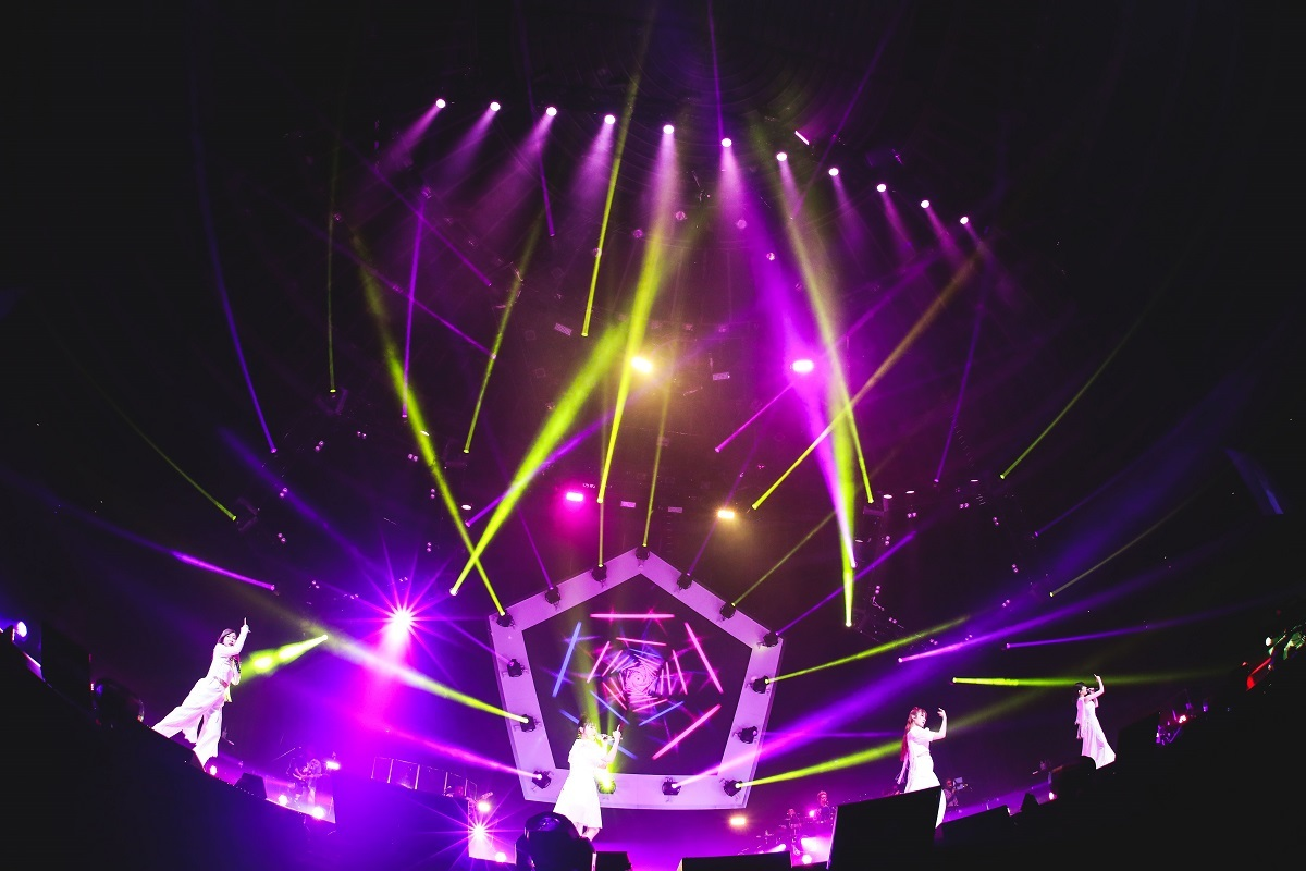 Little Glee Monster Arena Tour 2021 大阪城ホール(3月10日)photo by 渡邉一生