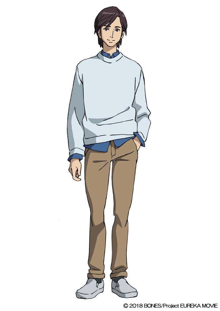 石井賢(CV.内田夕夜) アネモネの父。妻の死後、ひとりでアネモネを育ててきた。アシッドに所属し、特殊潜入部隊IAG303の隊長としてエウレカセブンにダイブし、帰らぬ人となった。日本人