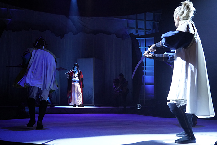 『紅葉鬼』ゲネプロ風景 (C)DO1 PROJECT/舞台「紅葉鬼」製作委員会