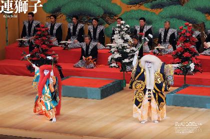 歌舞伎演目を貴重な舞台写真と美しいイラストで解説する書籍シリーズ第三弾が発売 『連獅子』『鷺娘』など