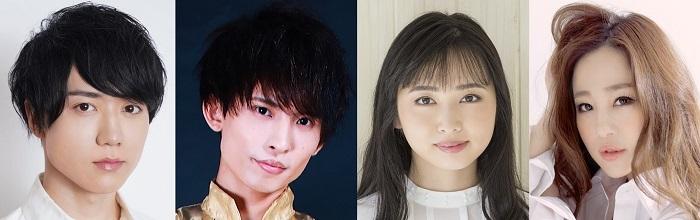 (写真左より)田中晃平、KOCKY(AI(R)️PEN)、須藤茉麻、Rilika