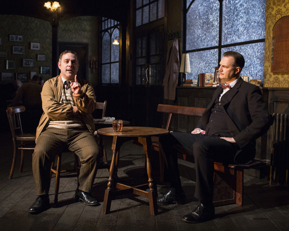The Hangmen Syd (Andy Nyman) and Harry (David Morrissey) (Photo by Helen Maybanks)