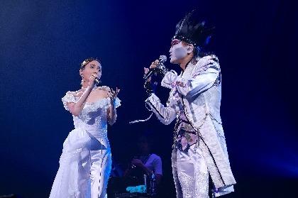 May J. 全国ツアー東京公演でデーモン閣下と「愛が生まれた日」のデュエット披露