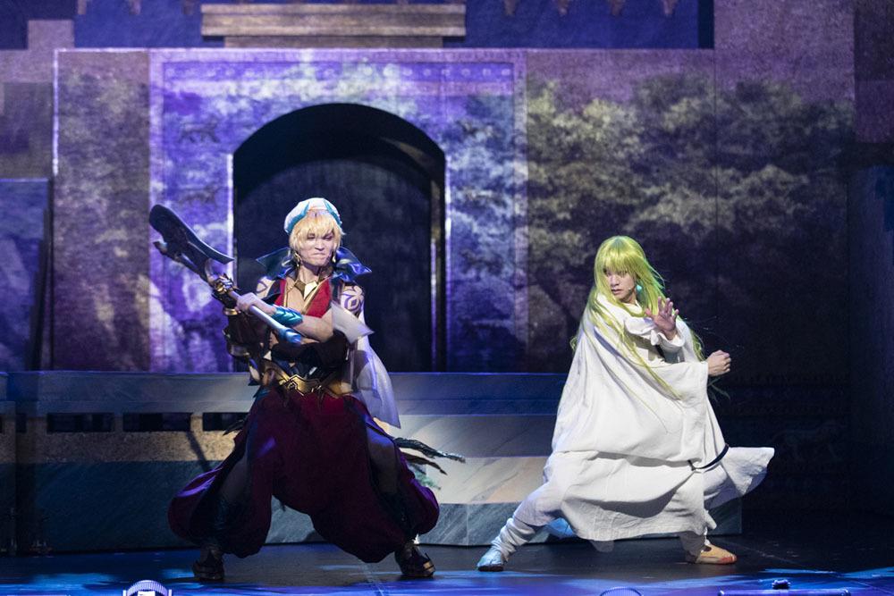 舞台『Fate/Grand Order THE STAGE -絶対魔獣戦線バビロニア-』ゲネプロの様子 (C)TYPE-MOON / FGO STAGE PROJECT