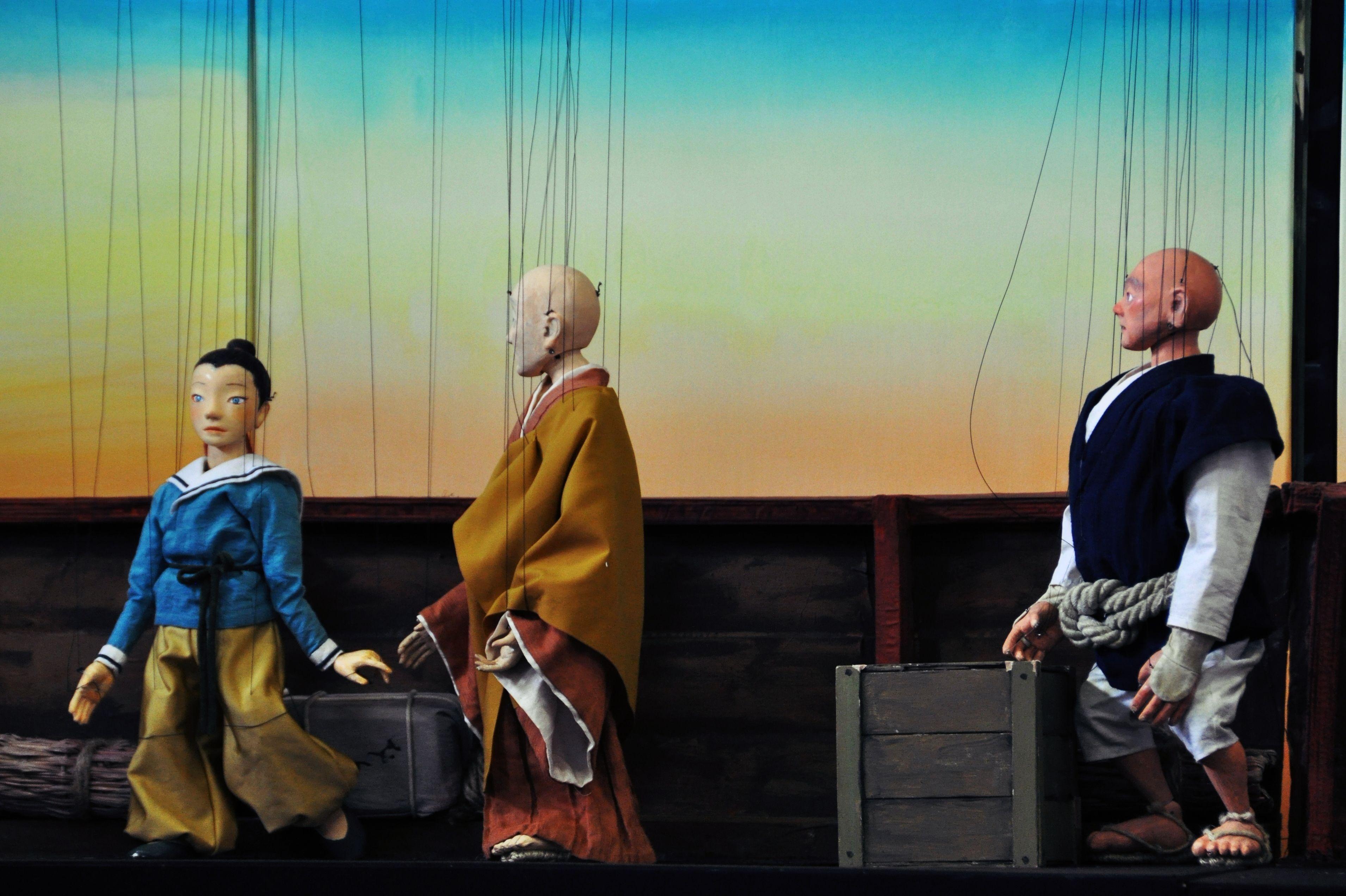 ITOプロジェクト『高丘親王航海記』通し稽古より。 [撮影]吉永美和子(このページすべて)