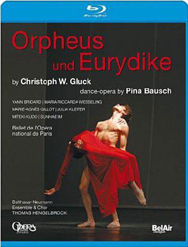 グルック「オルフェオとエウリディーチェ」ピナ・バウシュ振付のダンスオペラ版