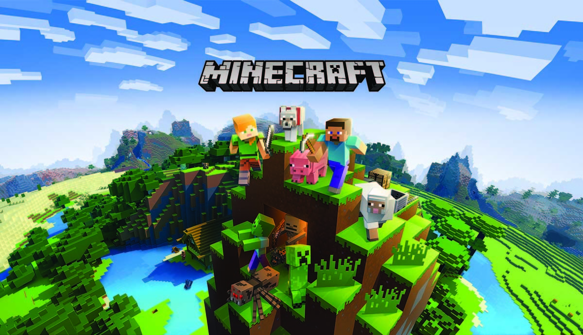 PlayStation4用ソフト『Minecraft Starter Collection』