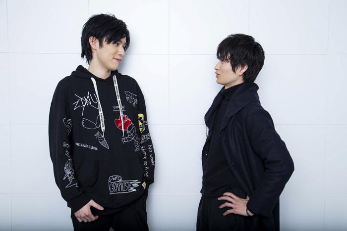 (左から)神永圭佑、松田凌