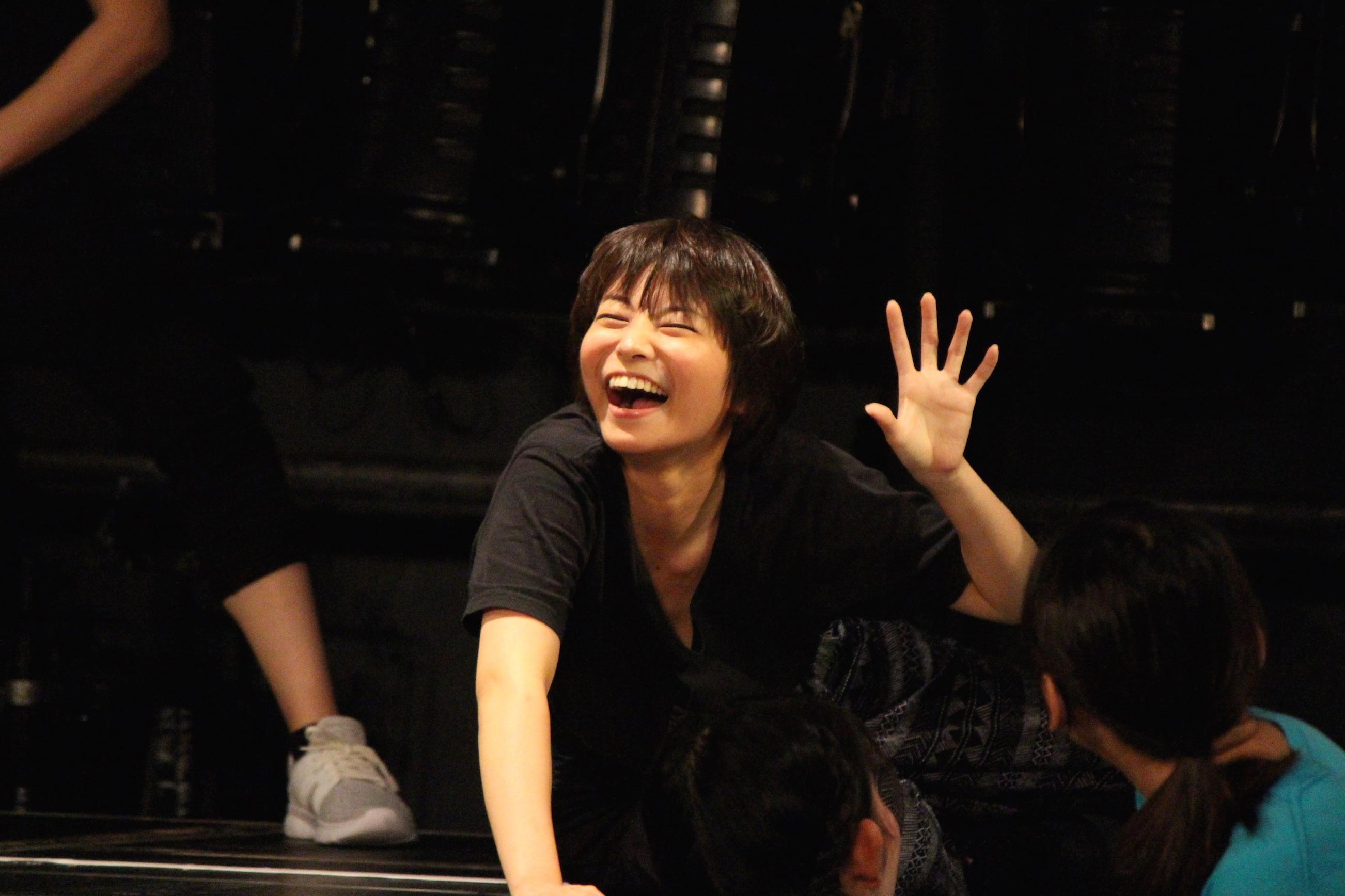 「Theatresports™」お稽古の様子  写真提供:東京演劇大学連盟事務局
