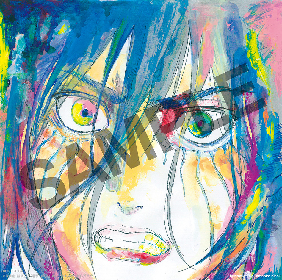 安藤裕子『進撃の巨人』EDテーマ「衝撃」のジャケット公開 特典のチェンジンクジャケットは、エレンのイラストを安藤本人が色付け