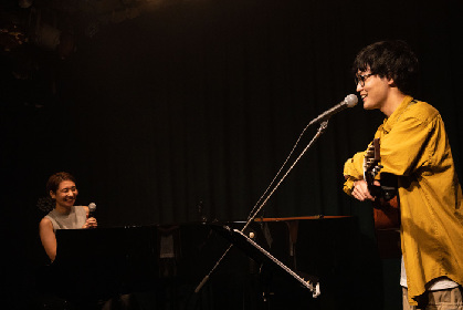 岩坂 遼 (Vocal, Guitar) / 桑原あい (Piano)による配信ライブ『Ad-lib&session』開催~ライブレポートが到着