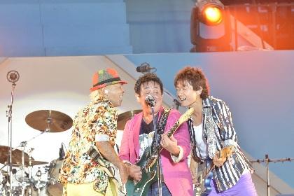 TUBE 噴水・炎・打ち上げ花火などド派手な演出に3万人が熱狂した30回目の横浜スタジアム公演が映像化