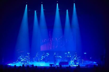 indigo la End ONEMAN TOUR 2020-2021『夜警』LINE CUBE SHIBUYAでファイナル公演 最新作『夜行秘密』楽曲も携え充実のツアーに