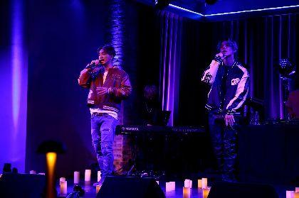SWAYとKAZUKIがソロ初配信ライブを開催 DOBERMAN INFINITYの新曲「DESTINY -S.O.L-」初披露&熱いメッセージも