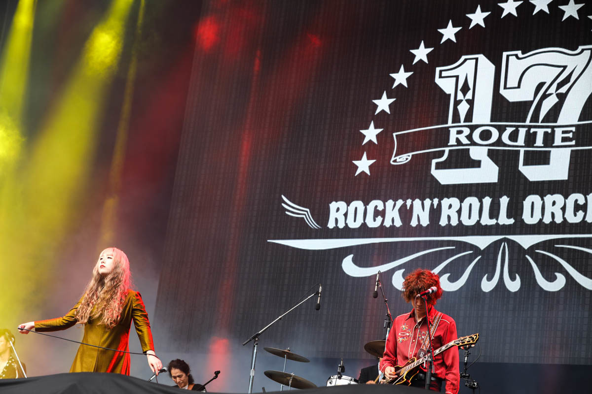 ROUTE 17 Rock'n'Roll ORCHESTRA/GLIM SPANKY 撮影=風間大洋