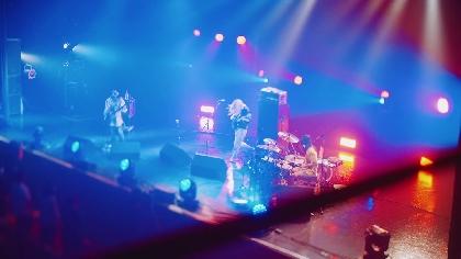 リーガルリリー、1st EP収録の「リッケンバッカー」最新ライブ映像をスペースシャワーTVで初オンエア