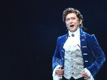 石丸幹二、安蘭けいら出演者6人が大阪で囲み取材! ミュージカル『スカーレット・ピンパーネル』舞台写真チラ見せ