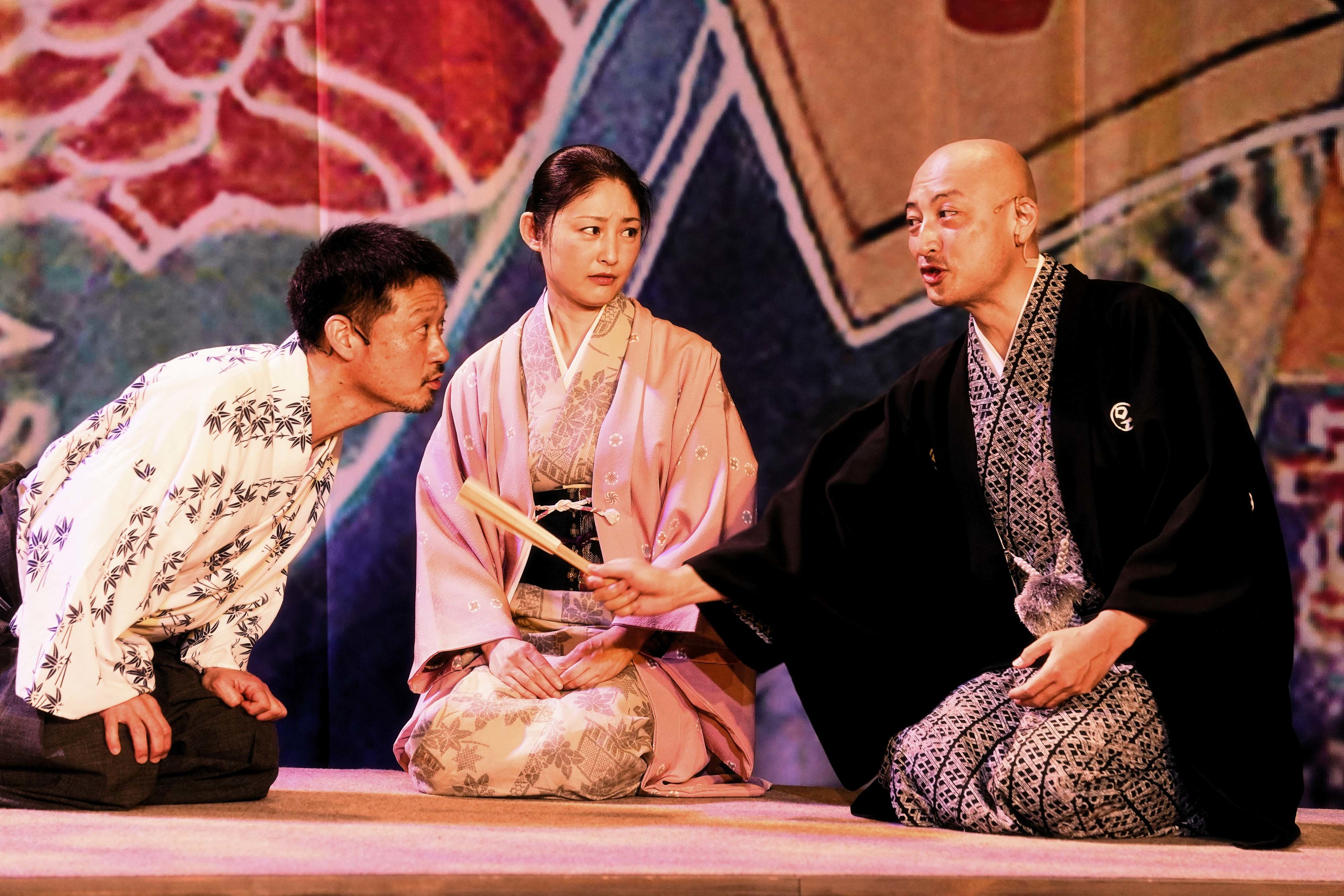 (左から)福田転球、常盤貴子、山内圭哉 撮影:細野晋司