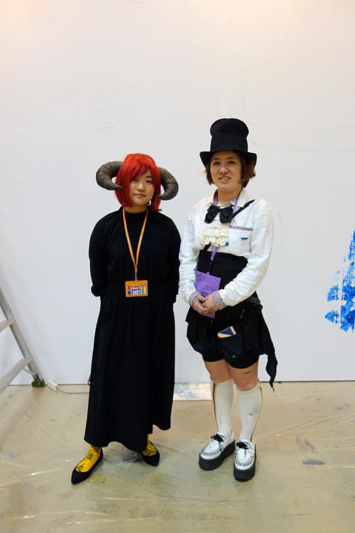 左:SHION ZIZZ(シオン・ジズ)氏 右:比嘉凜氏