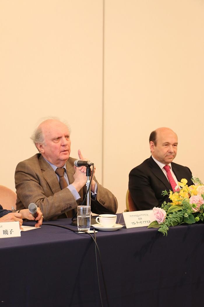 (左から)マレク・ヤノフスキ、ドミニク・マイヤー