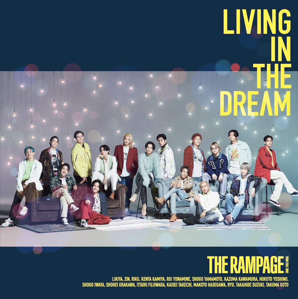 「LIVING IN THE DREAM」CD+DVD