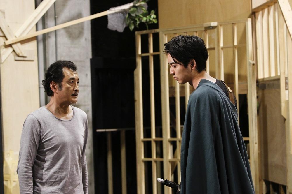 吉田鋼太郎&大野拓朗(左から) 撮影者 渡部孝弘