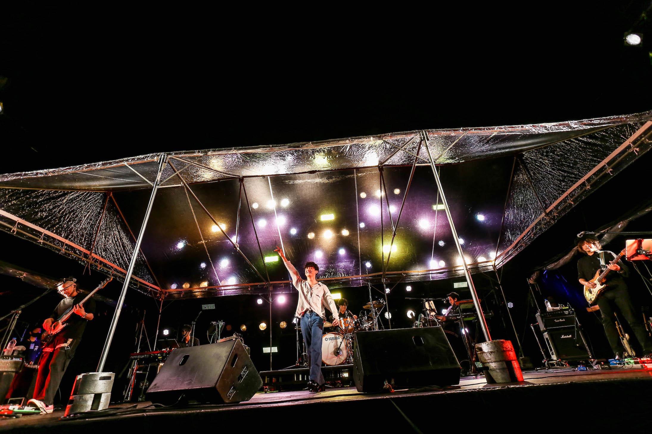 『大阪文化芸術フェス presents OSAKA GENKi PARK』【もみじ川広場LEFT STAGE】初日