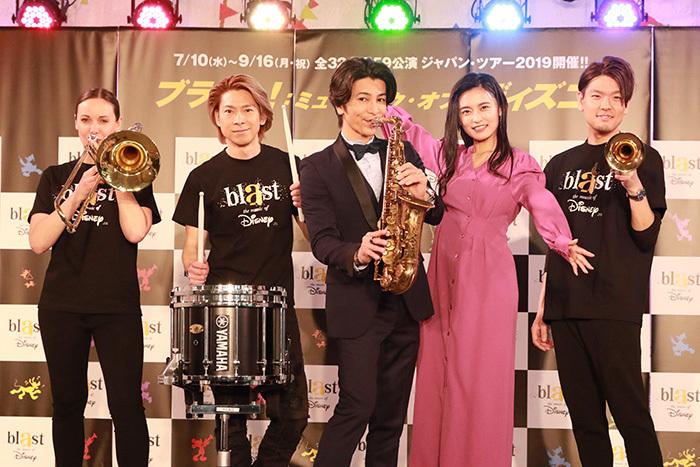 (左から)リサ・ライザネック・チャペル、石川直、武田真治、小島瑠璃子、米所裕夢