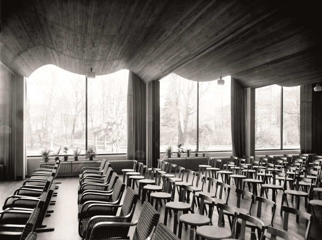 ヴィープリ(ヴィーボルク)の図書館/Alvar Aalto, 1927-35 (C)Alvar Aalto Museum, photo: Gustaf Welin