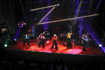 ももクロ「MTV Unplugged」で新境地開拓、百田夏菜子はエビ反りドラム披露