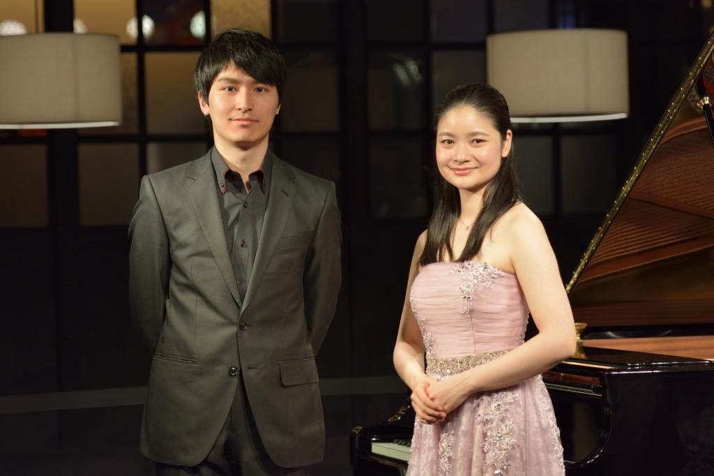 實川 風(ピアノ)、鈴木 舞(ヴァイオリン)