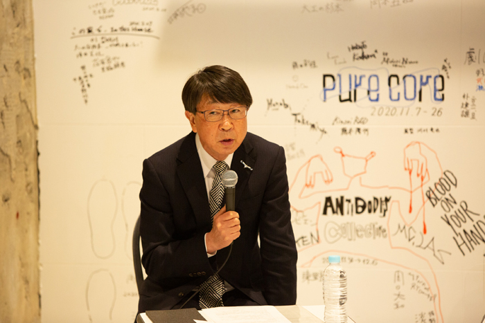 中貝宗治市長 (photo:igaki photo studio)