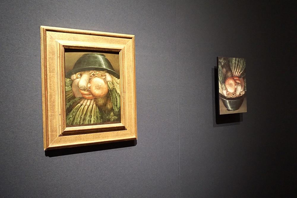 """ジュゼッペ・アルチンボルド《庭師/野菜》油彩/板 クレモナ市立美術館蔵 Sistema Museale della Città di Cremona - Museo Civico """"Ala Ponzone"""" / Museo Civico """"Ala Ponzone"""" - Cremona, Italy"""