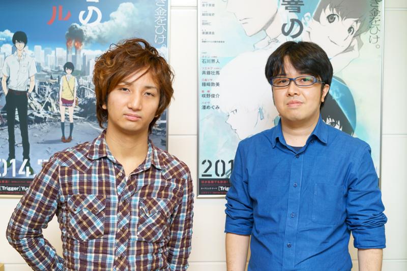 舞台版『残響のテロル』脚本の熊谷純、演出の奥秀太郎