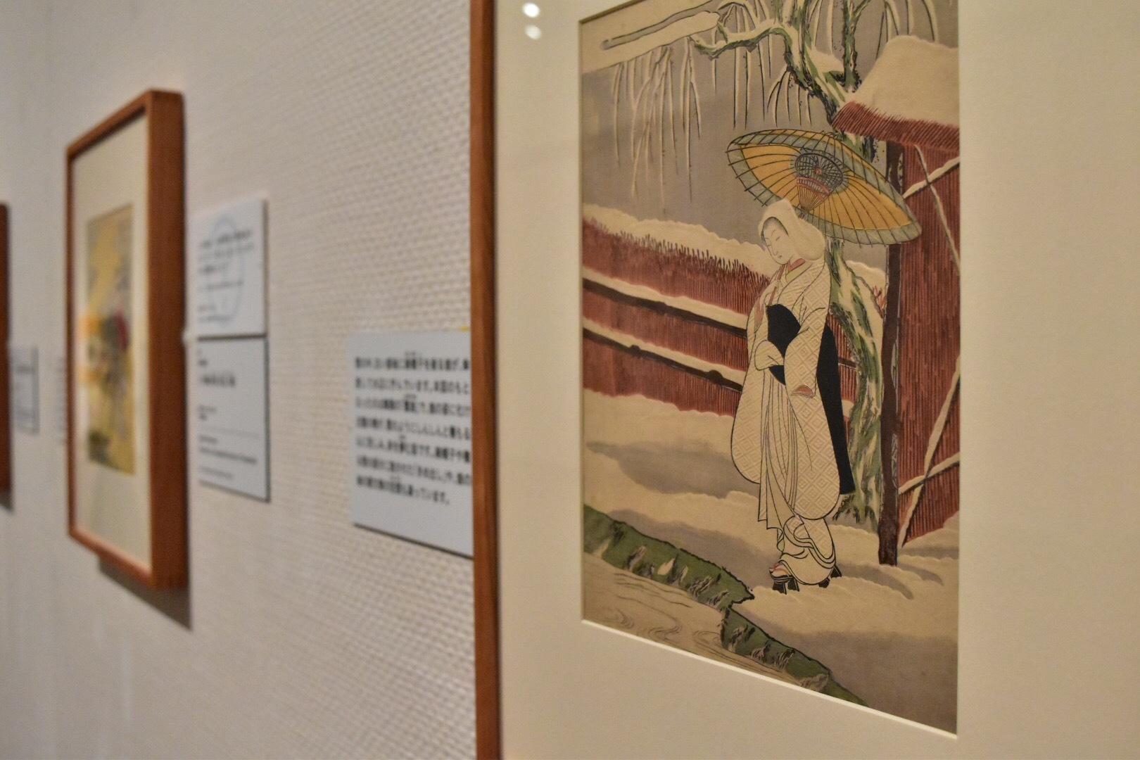 鈴木春信 《鷺娘》 明和3-4年(1766-67)頃 中判錦絵