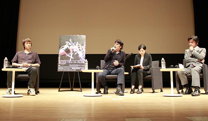 那須野圭右、ジル・ロマン、髙橋専務理事 撮影:西原朋未