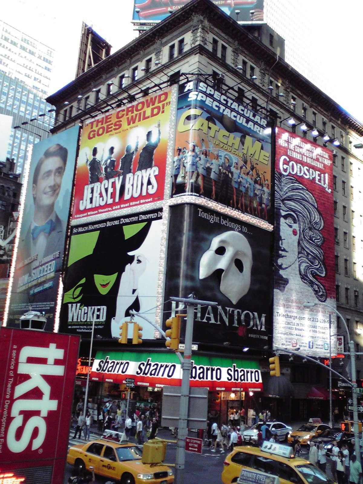 世界一の劇場街・ブロードウェイ