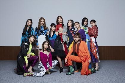 E-girls・石井杏奈がセレクトしたプレイリスト「E-girlsと好きな男性ロックバンド」を公開