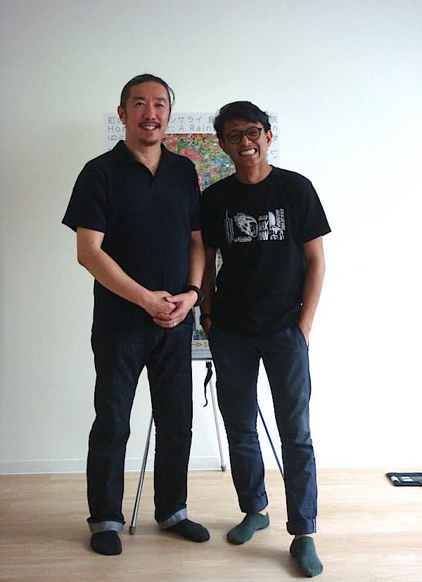 堀田商事の堀田勝彦代表取締役とサレ・フセイン
