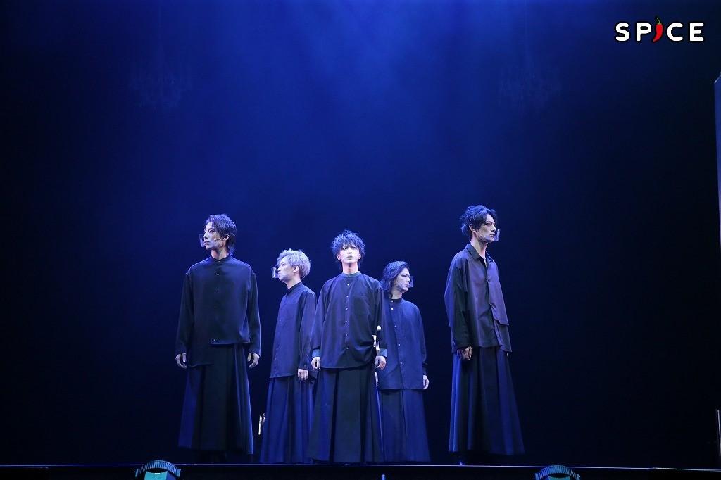 『5 Guys Shakespeare Act1:[HAMLET]』ゲネプロより 撮影:小境勝巳