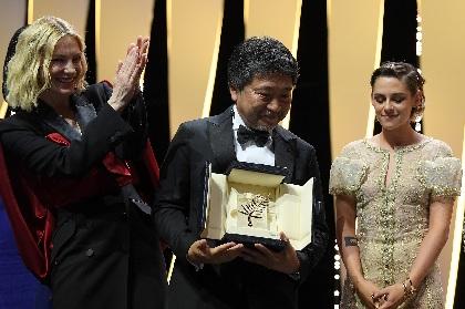 是枝裕和監督『万引き家族』がカンヌ国際映画祭でパルムドール(最高賞)を受賞 ケイト・ブランシェット「総合的に素晴らしかった」