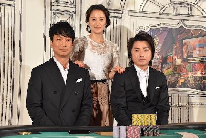 藤原竜也と椎名桔平が初タッグでW主演!注目の舞台『レインマン』取材会レポート