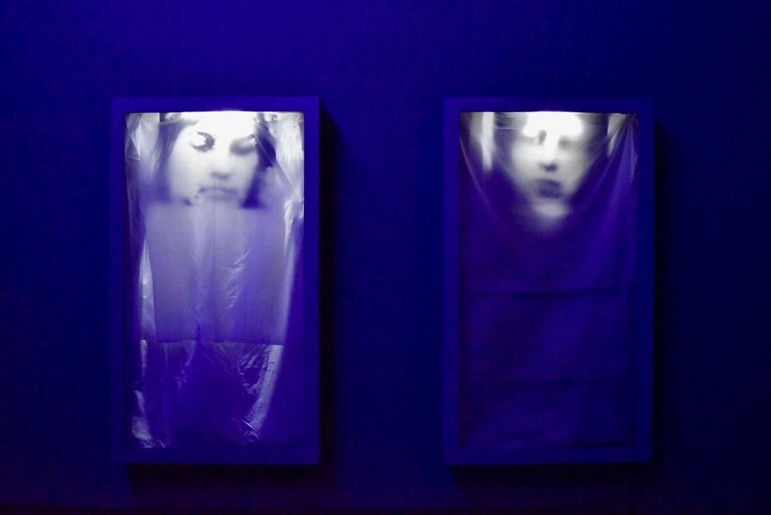 《ヴェロニカ》 1996年 「クリスチャン・ボルタンスキー −Lifetime」展 2019年 国立新美術館展示風景