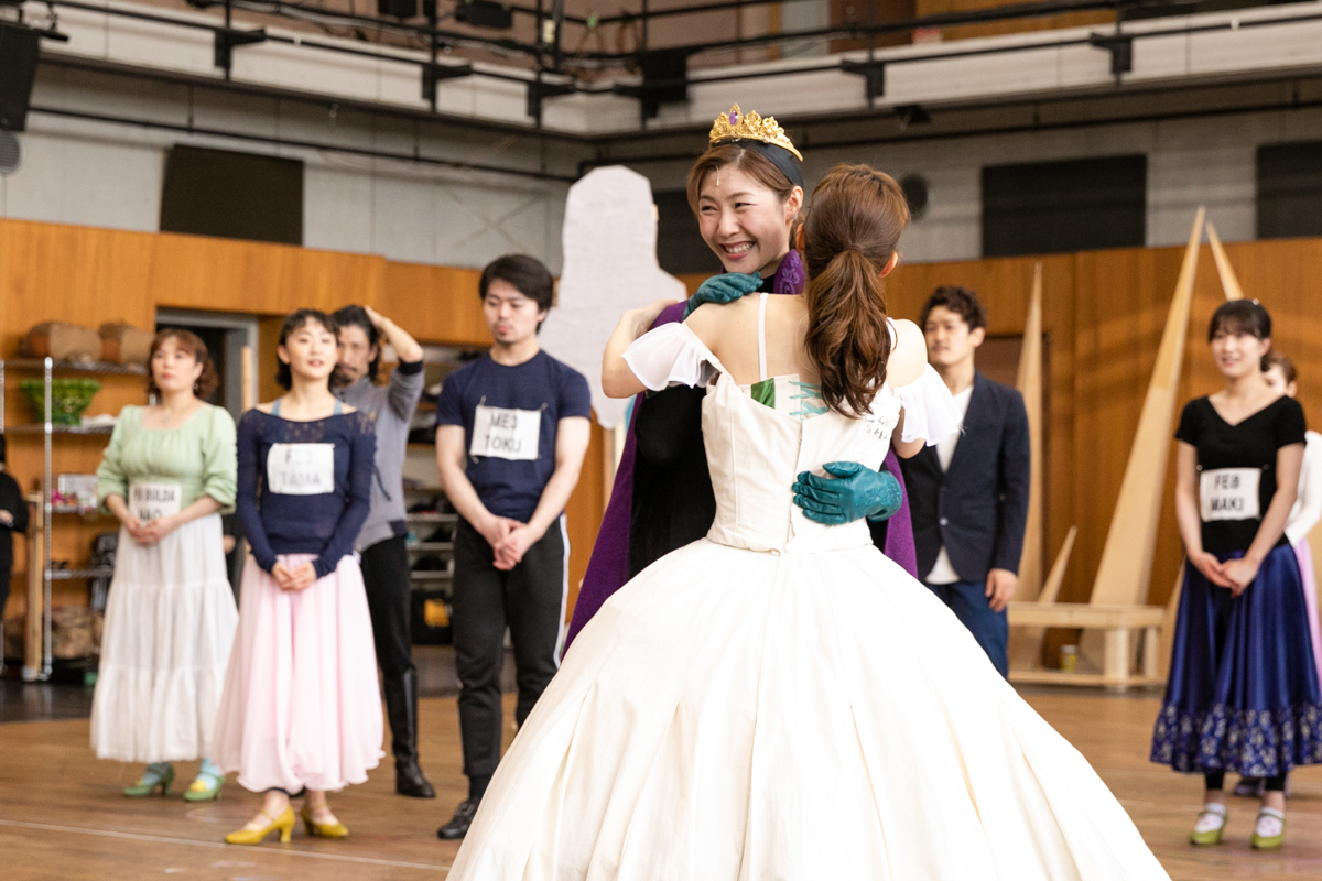 劇団四季『アナと雪の女王』公開稽古(撮影:鈴木久美子)